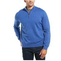 Deals on J.McLaughlin Tate Solid Mens Sweaters