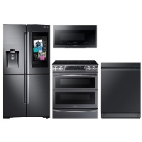 Deals on Samsung Refrigerator + Duo Range + Dishwasher + Microwave