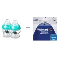 Deals on 2 Pack Tommee Tippee Advanced Anti Colic Bottles 5oz + $5 Walmart GC