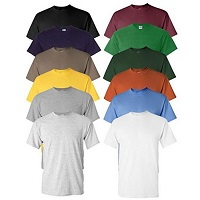 Deals on 6 Pack Mens Moisture-Wicking Anti-Microbial Performance T-Shirt