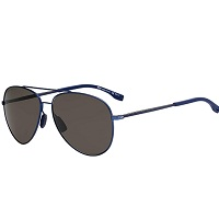 Deals on Hugo Mens Boss Polarized Blue Aviator