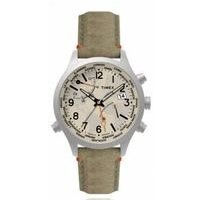 Deals on Timex TW2R43300 Mens Waterbury World Time 43mm Watch