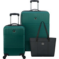 Deals on Delsey 3 Piece Hardside Spinner Luggage Set 2