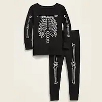 Glow-in-the-Dark Skeleton Pajama Set for Toddler & Baby Deals