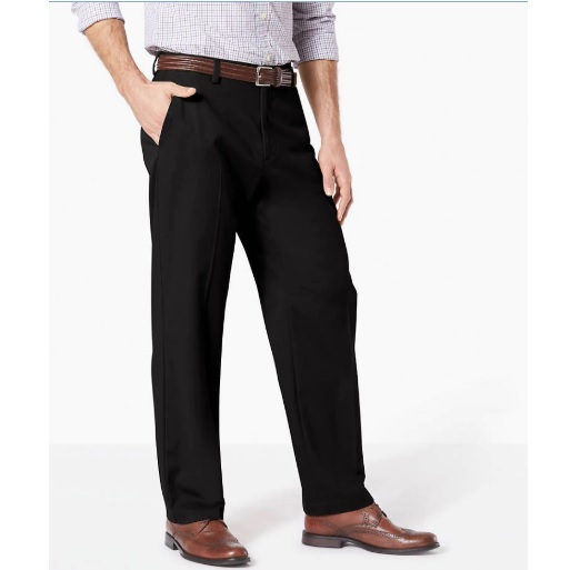 Deals on Dockers Mens Easy Stretch Khaki Pants Relaxed Fit