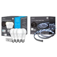 Deals on C by GE Soft A-19 4-pk + Smart Plug + Smart LED Light Strip