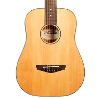 Deals on DAngelico Premier Series Utica Mini Acoustic Guitar w/Spruce Top