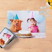 Deals on 10x14-inch Custom Puzzle 252 Pieces