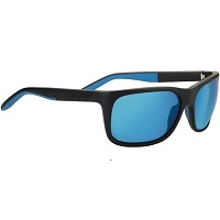 Deals on Serengeti Ettore Polarized Black Square Sport w/Glass Lens