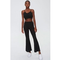 Deals on Forever 21 Womens Ribbed Cropped Cami & Pants Set