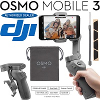 Deals on DJI Osmo Mobile 3 Gimbal Stabilizer for Smartphones