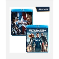 Deals on Disney Movie Insiders: Marvel Captain America: Winter Soldier & Civil War