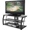 Deals on 44-inch Black Glass TV Stand