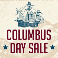 Columbus Day Deals & Promotions from Various Merchants