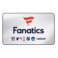 $50 Fanatics Gift Card Email Delivery Deals