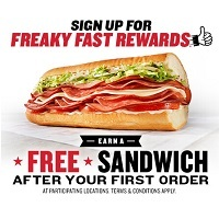 Deals on Jimmy Johns: Free Little John Sandwich w/Buy 8-in Sandwich
