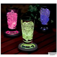 Deals on LED Multi-Color Flashing/Changing Light Coaster