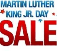Deals on Martin Luther King Jr Day Deals & Promotions from Various Merchants
