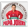 Deals on Papa Johns: Any Size Pizza w/Any Toppings