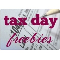 Tax Day Freebies and Deals from Various Merchants